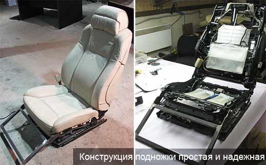 Поворотный механизм для сиденья микроавтобуса как сделать