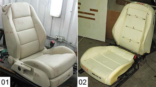 Обшивка сиденья автомобиля своими руками 19