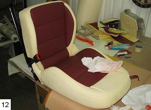 Как сделать водительское кресло своими 776